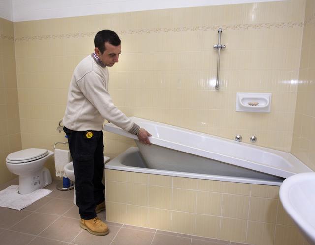 Casa immobiliare accessori ricoprire vasca da bagno - Ricoprire vasca da bagno ...