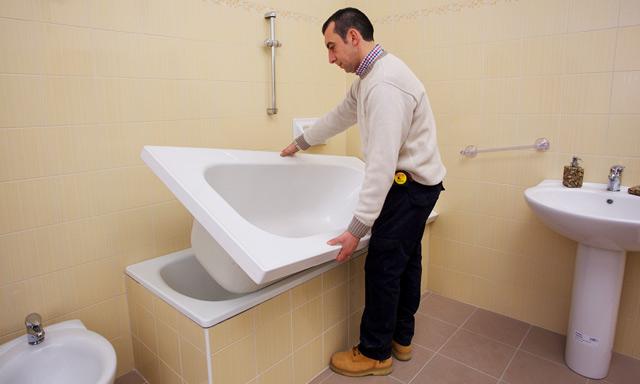 Rifacimento Vasca Da Bagno Torino : Sovrapposizione vasca da bagno
